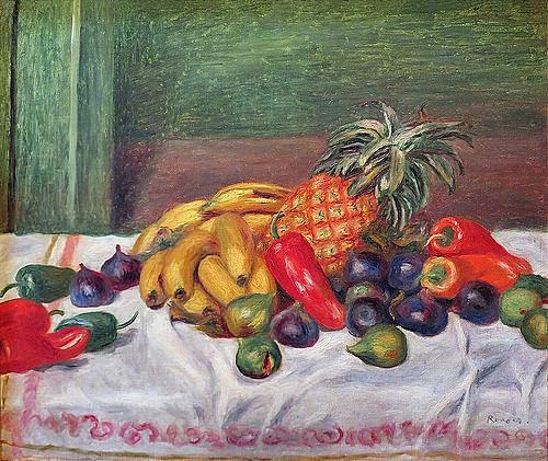 Bananes et ananas de Renoir