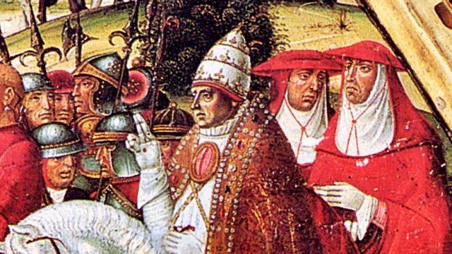 Trasferimento sede papale a Roma