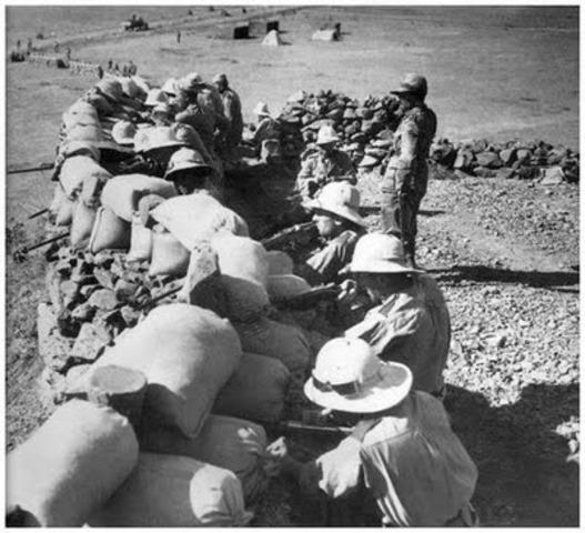 Italian troops take over Ethiopia