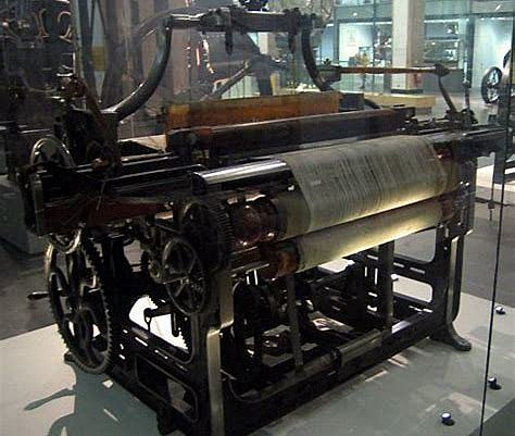 Mechanical loom by Cartwright