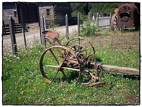 Mechanical mower