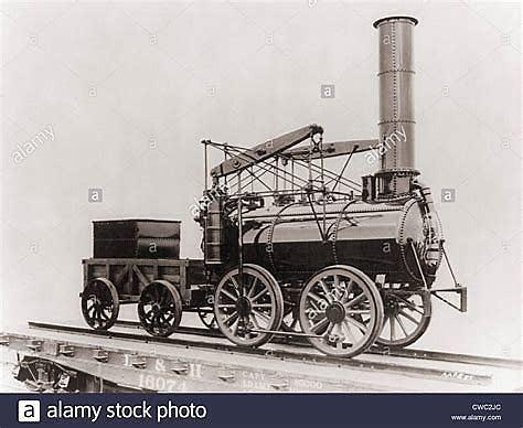 Steam locomotive Stephenson