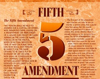 5th Amnedment
