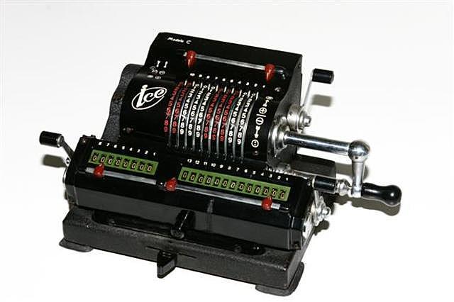 Calculadoras mecanicas