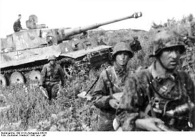 German invasion of Polan; blitzkrieg