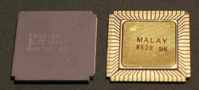 Intel 80186 y 80188