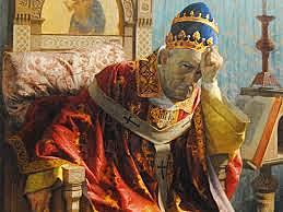 Bonifacio VIII viene imprigionato ad Anagni