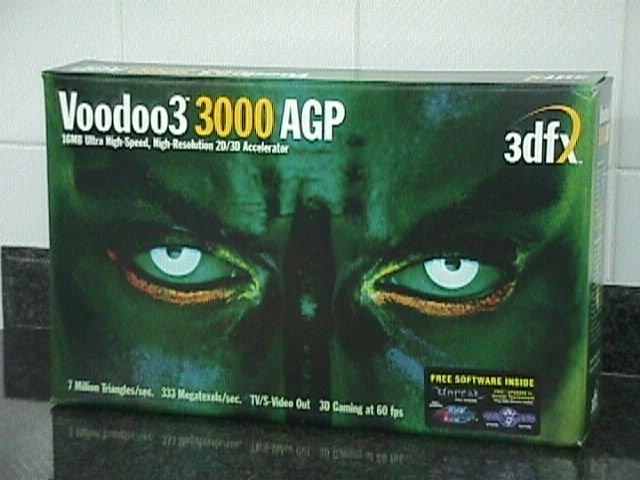 3dfx saca al mercado la Voodoo 3 para competir con la Nvidia TNT2