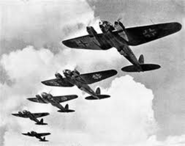 Plans for an invasion of Great Brittain; beginning of the Battle of Britain