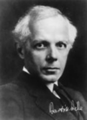 Béla Bartók was born