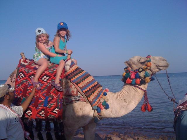 Vi åkte till Egypten!