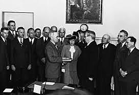 FDR Died/Harry Truman Became President