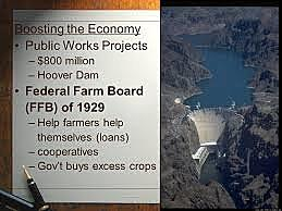 Expansion of the Federal Farm Board (FFB)