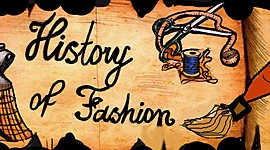 Costume and fashion history timeline
