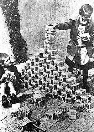 De økonomiske konsekvensene av krigen