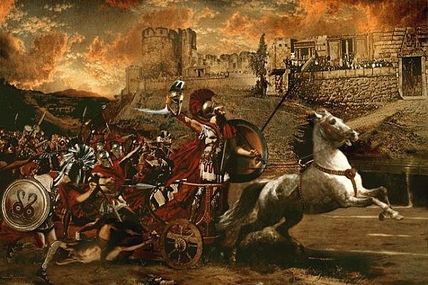 Final de Guerra de Troya