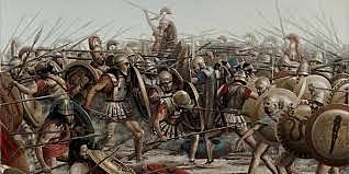 Principio de la  Liga del Peloponeso
