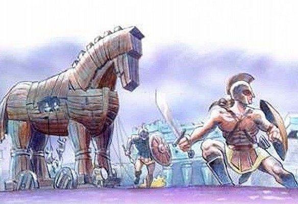 Fin  de   la  guerra   de  Troya
