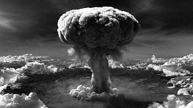 The first nuclear weapon used in combat