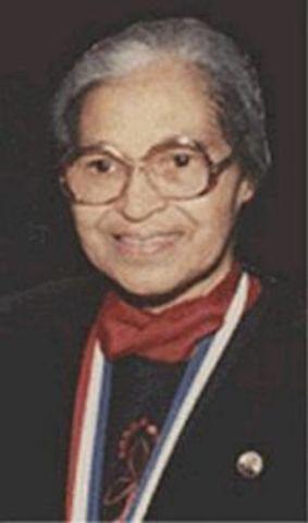 Rosa Parks receives prestigious Spingarn Award