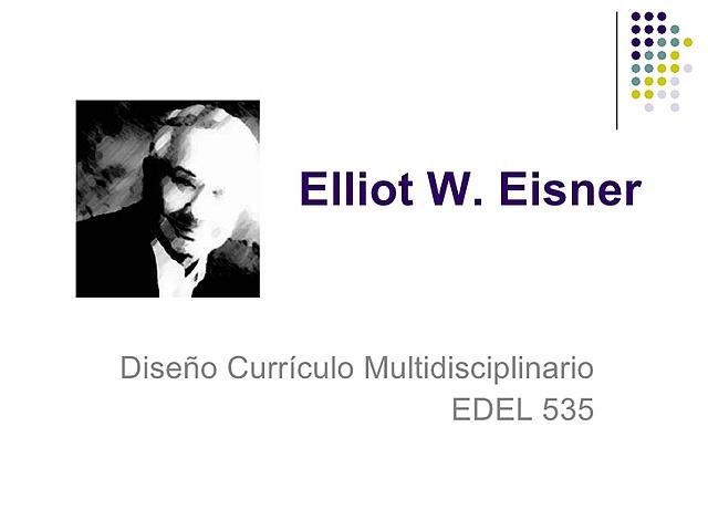 ELLIOT EISNER