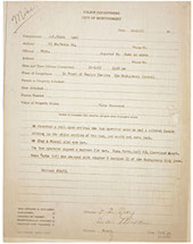 Rosa Parks is fined $14 and the case goes to trial.
