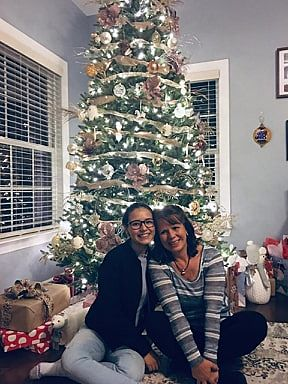 Mi navidad en Carolina del Norte