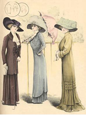 Fashion of 1910