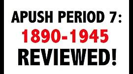 APUSH Unit 7 (1890-1945) Part 3 timeline