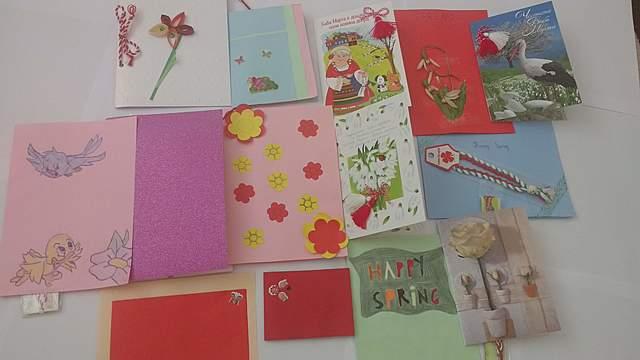 Spring postcards from Bulgaria to Ukraine