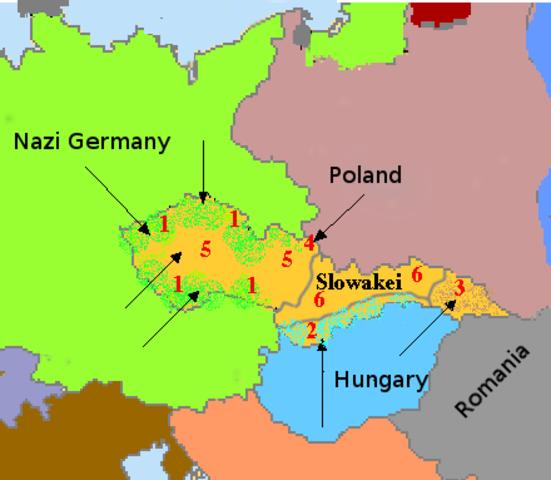 Czechoslovakia falls to Germany