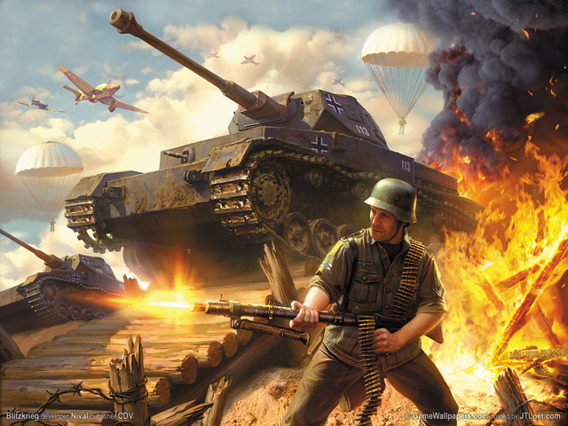 German invasion of Poland, blitzreig