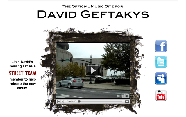 The Official David Geftakys Website.
