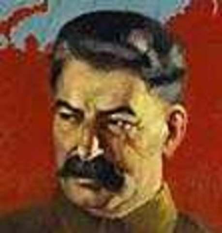 Death of Vladimir lenin;control of USSR to joseph stalin; deaths of 8-13million Russians