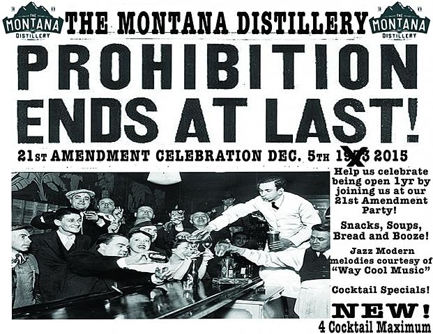 Prohibition: 21st Amendment