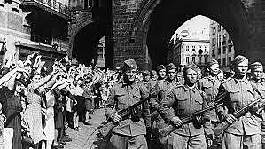 Alemania derrotada en la Unión soviética
