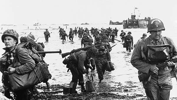 El desembarco Normandía
