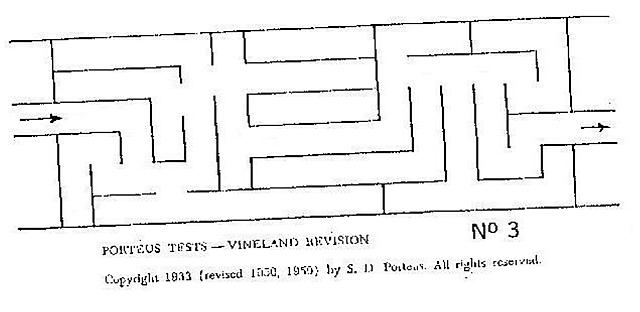laberinto de porteus 1915