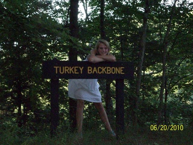 Hace ocho meses que fui una caminata en Turkey Run.
