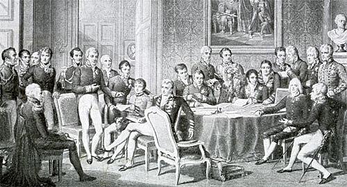 Inizio Congresso di Vienna