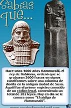 HAMMURABI ESTABLECIÓ EL IMPERIO BABILÓNICO.