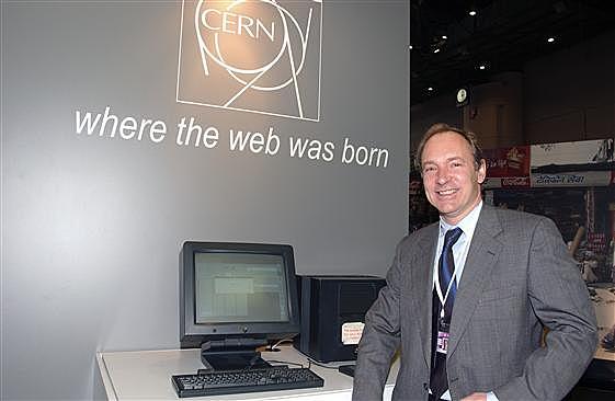 Primer servidor de páginas web de la historia