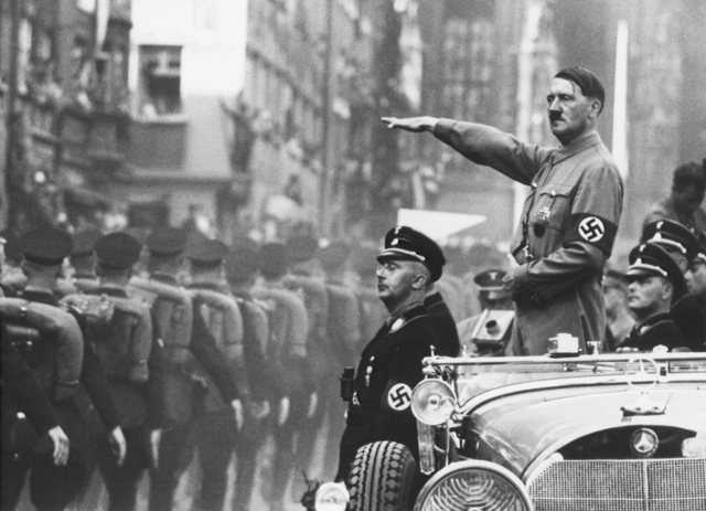 Hitler begins miltary buildup