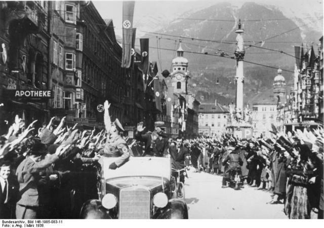 Hitler took over Austria