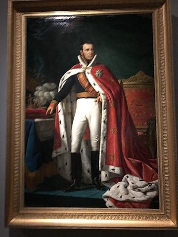 Portret van Willem I, koning der Nederlanden.