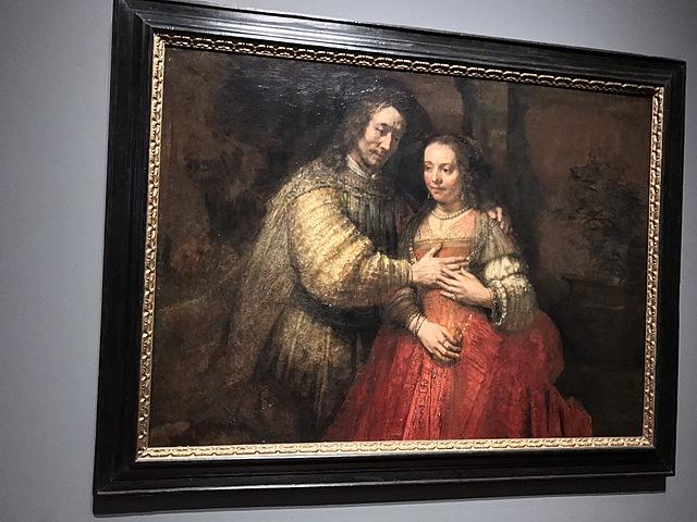Isaak en Rebekka, bekend als 'Het Joodse bruidje'
