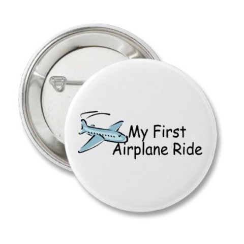 First time I flew in a plane