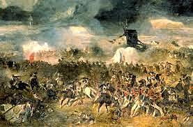 L'esilio all'isola d'Elba - Battaglia di Waterloo