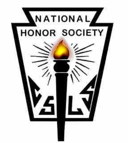 Inducted into National Honor Society