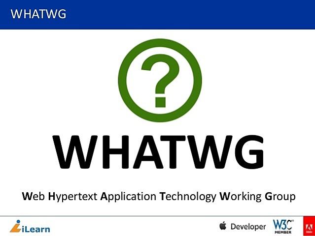 El WHATWG abandona el nombre HTML 5 y pasa a llamarlo solo HTML